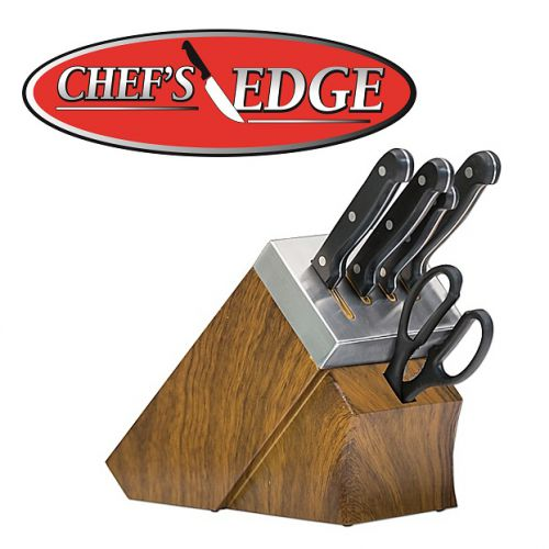 Chef s Edge - Set de cuchillos con sistema de autoafilado ... c201e6d945b3