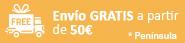 Envío gratis a partir de 50€